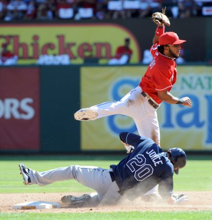 MLB: Tampa Bay 5, Texas 2