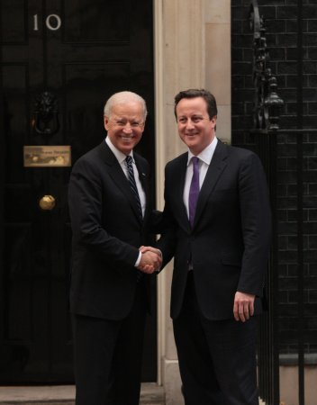 Biden meets with British leaders