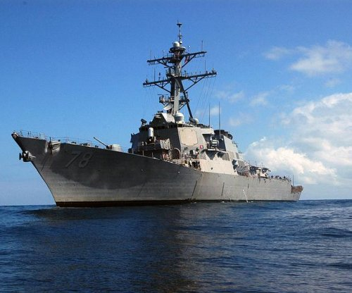 USS Porter arrives in Ukraine for NATO peace mission