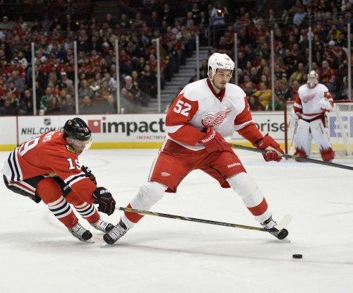 Detroit Red Wings D Jonathan Ericsson out 12 weeks with broken wrist