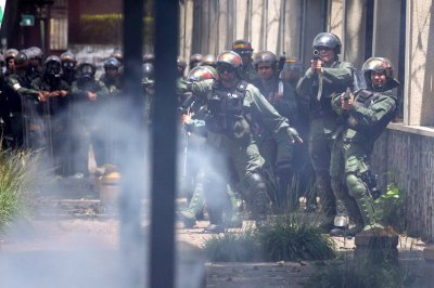 Venezuelan student killed by National Guard tear gas canister