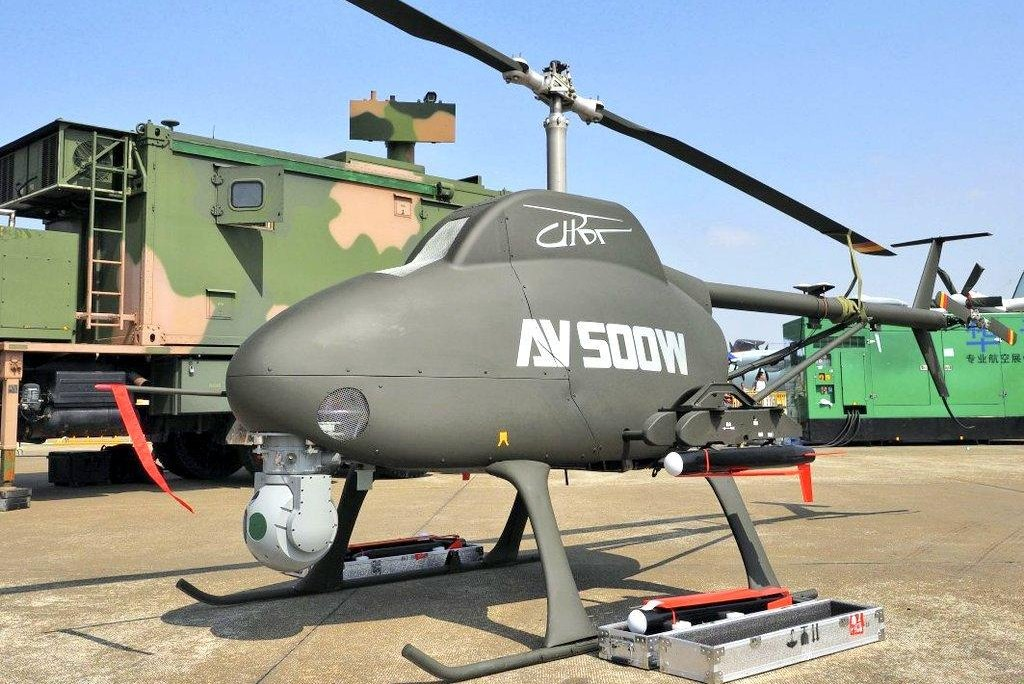 China Touts Military Drone Helicopter At Exhibition