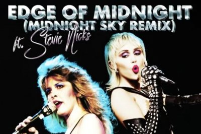 Miley Cyrus, Stevie Nicks share 'Midnight Sky,' 'Edge of Seventeen' mashup