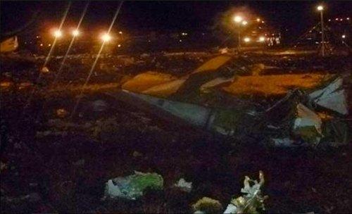 Boeing airliner crash kills 50 [VIDEO]