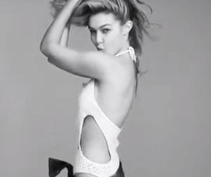 Gigi Hadid dances in reverse for Love advent calendar