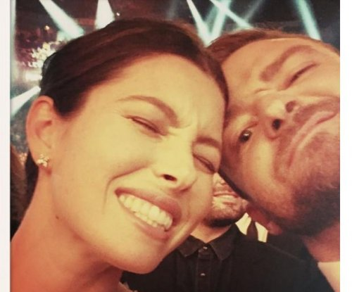 Justin Timberlake, Jessica Biel enjoy 'date night' at CMA Awards