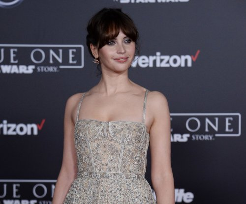 Felicity Jones, Emily Osment, Harley Quinn Smith add glamour to 'Rogue One' premiere