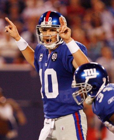 NFL: N.Y. Giants 16, Washington 7