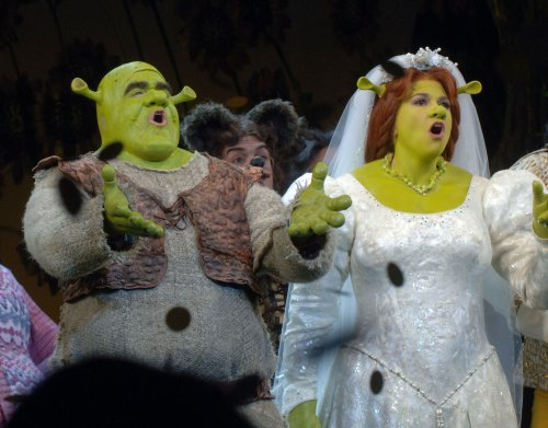Contest winners to appear in 'Shrek' show