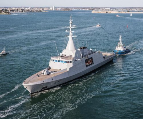 New French corvette passes first sea trials