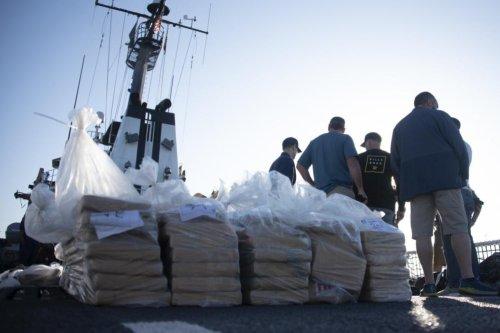 U.S. Coast Guard offloads $92M worth of smuggled cocaine