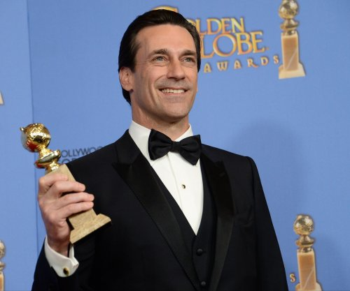 Jon Hamm calls out HFPA over misspelled Golden Globe