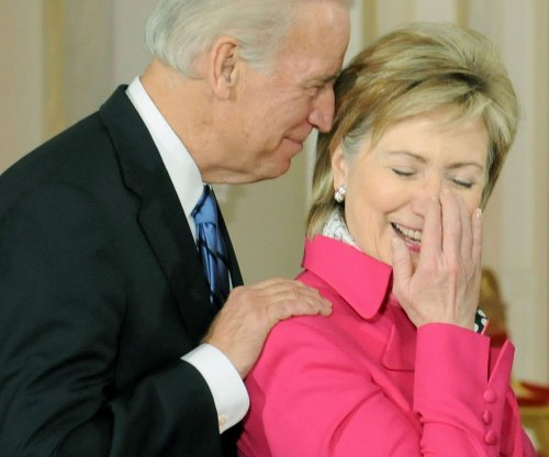 Joe Biden 'confident' Hillary Clinton will be next president