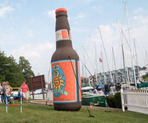 Michigan police searching for $2,000 inflatable beer bottle