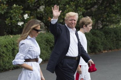 Trump, family make first visit to Camp David