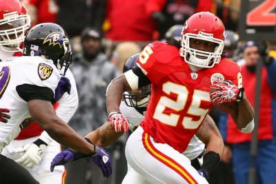Free-agent RBs Jamaal Charles, Orleans Darkwa to visit Washington Redskins