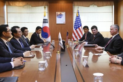 U.S., South Korea hold video conference on North Korea