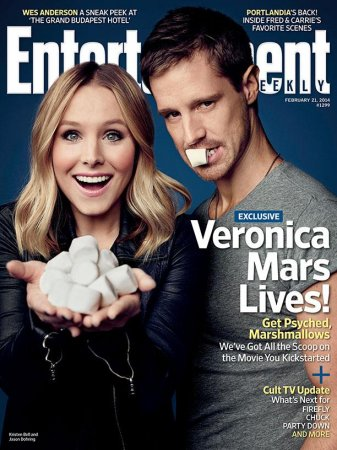 Kristen Bell, Jason Dohring cover Entertainment Weekly
