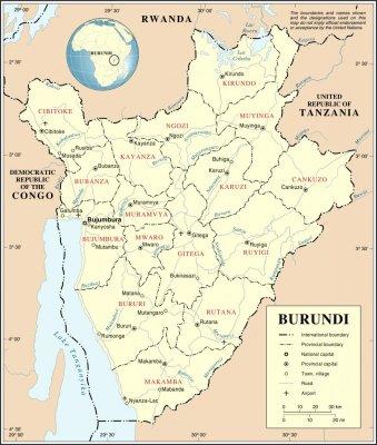 Dead bodies floating in Burundi lake prompts investigation