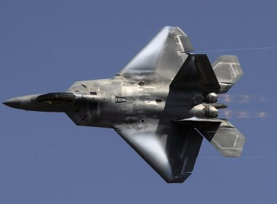 A combat debut for the F-22 fighter plane