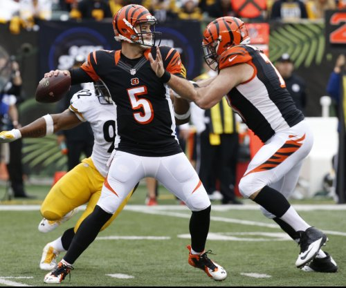 Cincinnati Bengals' A.J. McCarron burning midnight oil