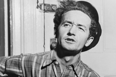 Woody Guthrie slammed Donald Trump's dad as a racist in new found song