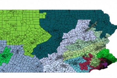 Math theorem suggests Pennsylvania's congressional districts were gerrymandered
