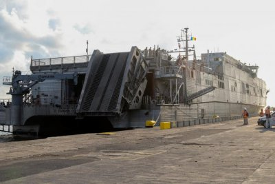 Navy taps Austal for next expeditionary fast transport