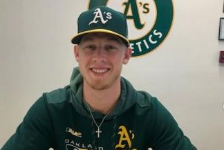 Pitcher signs contract with Oakland A's after hitting 90s in viral video