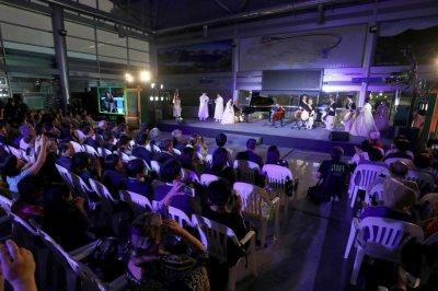 Yo-Yo Ma plays peace concert at Korean demilitarized zone