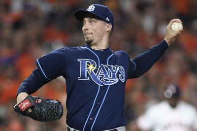 Snell, Rays beat Astros 2-1 to open AL Championship Series