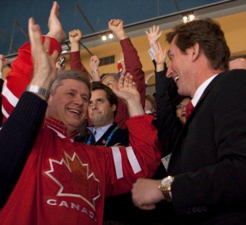 Olympics boost Canadian Conservatives