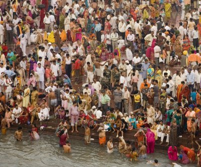 Selfies banned at India's Kumbh Mela festival to prevent stampedes