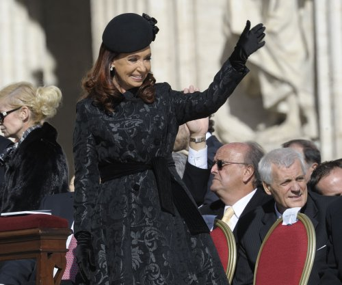 Judge freezes former Argentine President Kirchner's assets