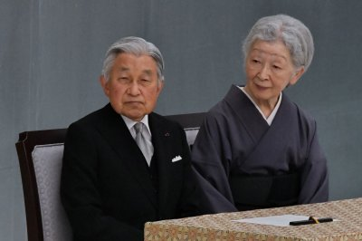 Japan sets Emperor Akihito's abdication date for April 30, 2019