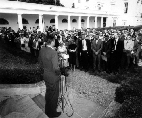 On This Day: JFK gives Peace Corps permanent status