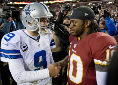 Discount RG3 consoles Tony Romo after Redskins defeat Cowboys  for sale