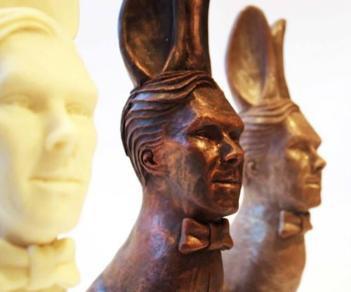 Benedict Cumberbatch inspires chocolate 'Cumberbunny' for Easter