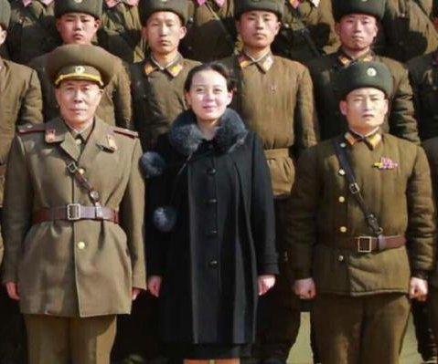 Kim Jong Un's sister appears at North Korea's assembly