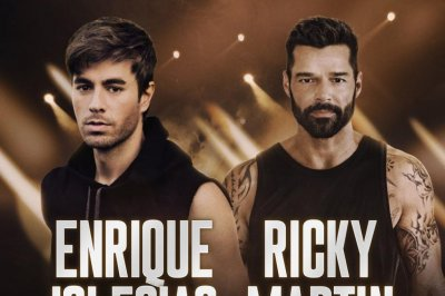 Enrique Iglesias, Ricky Martin to launch joint tour in September
