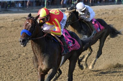 Met Mile, Los Alamitos Derby, top turf races at Belmont in weekend U.S. horse racing
