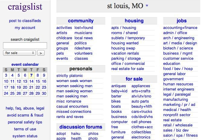 Missouri Man arrested for Craigslist ad seeking someone to