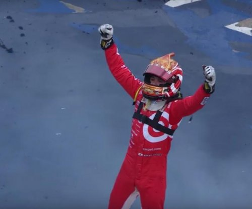 Kyle Larson notches first Sprint Cup victory