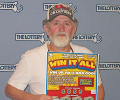 Massachusetts man wins second $1M lottery prize
