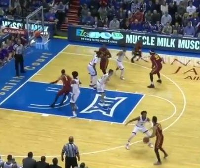 Unranked Iowa State stuns No. 3 Kansas in OT