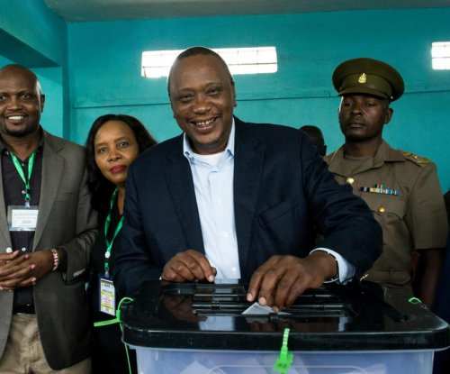 Kenya's president warns against interference in election rerun