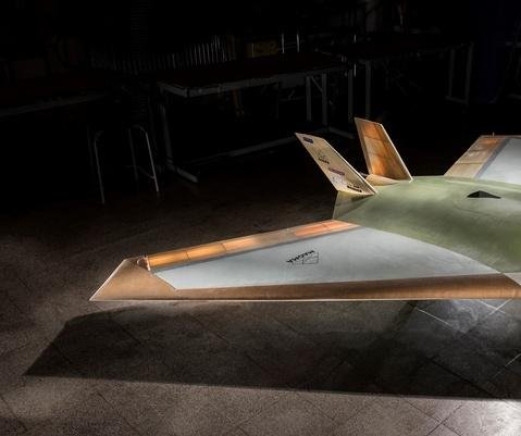 Jet-powered drone tested by BAE Systems