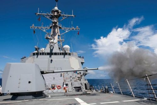 Navy contracts with BAE Systems for four more Mk 45 guns