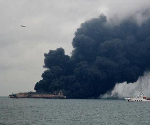 Iran reviewing data recorder from sunken Sanchi oil tanker