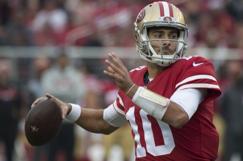 NFL schedule buys into Garoppolo hype